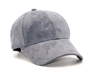 Dámská Kšiltovka New Era Suede Essential 9FORTY Grey Heather Strapback