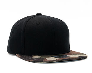 Kšiltovka State of WOW Crown 13 Black/Camo Snapback