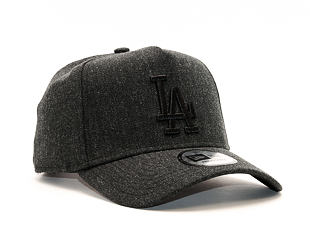 Kšiltovka New Era Seasonal Heather 9FORTY A-Frame Los Angeles Dodgers Heather Black Snapback