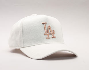 Damská Kšiltovka New Era Melton 9FORTY A-Frame Los Angeles Dodgers Satin/Gold Snapback