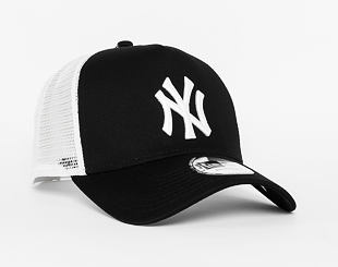 Kšiltovka New Era Clean Trucker 2 New York Yankees 9FORTY Black/White Snapback