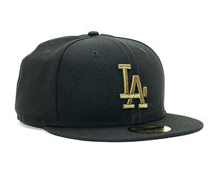 Kšiltovka New Era League Essential Los Angeles Dodgers 59FIFTY Black/New Olive