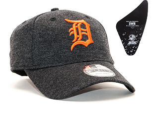 Kšiltovka New Era 9FORTY Detroit Tigers Winterised The League Black/Orange Strapback