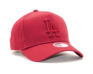 Dámská Kšiltovka New Era 9FORTY A-Frame Los Angeles Dodgers League Essential Cardinal Snapback