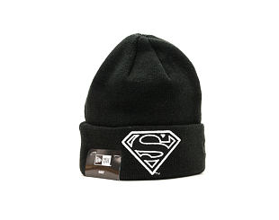 Dětský Kulich New Era Superman GITD Cuff Youth Black