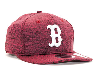 Kšiltovka New Era 9FIFTY Boston Red Sox Dryswitch Cardinal/White Snapback