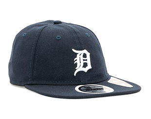 Kšiltovka New Era 9TWENTY Detroit Tigers Packable Navy/White Strapback