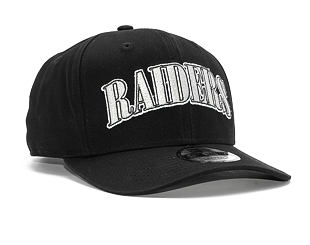 Kšiltovka New Era 9FIFTY Oakland Raiders Pre Curved OTC