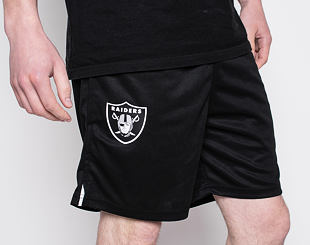 Kraťasy New Era Oakland Raiders Jersey Black