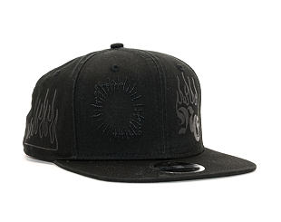 Kšiltovka New Era 9FIFTY Hard Bootleg Black Snapback