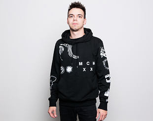 Mikina New Era Graphic Bootleg Hoody Black