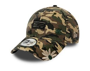 Kšiltovka New Era 9FORTY Military Flower FRG