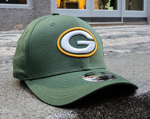 Kšiltovka New Era 9FIFTY Green Bay Packers Stretch Snap OTC