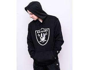 Mikina New Era Oakland Raiders Team Logo Hoodie Black