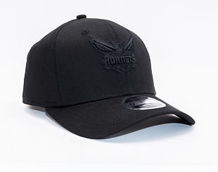 Kšiltovka New Era 9FIFTY Charlotte Hornets Stretch Snap Tonal Black