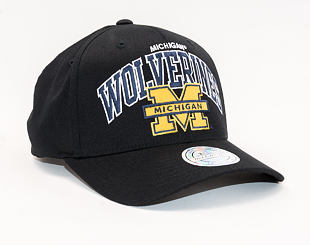 Kšiltovka Mitchell & Ness Michigan Wolverines 661 Team Arch 110