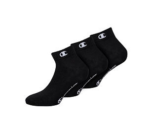 Ponožky Champion ANKLE SOCKS LEGACY X3 BLACK