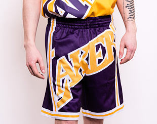 Kraťasy Mitchell & Ness Los Angeles Lakers Big Face