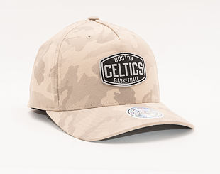 Kšiltovka Mitchell & Ness Boston Celtics 612 Khaki/Camo