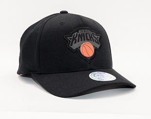 Kšiltovka Mitchell & Ness New York Knicks Black Siege