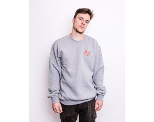 Mikina éS Script Crew Fleece GREY HEATHER