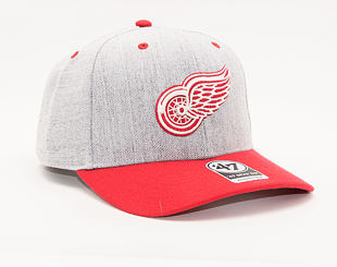 Kšiltovka 47 Brand Detroit Red Wings Storm Cloud TT MVP DP
