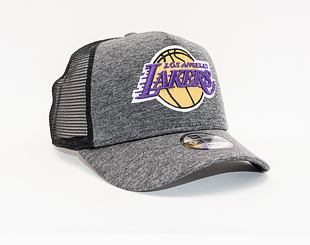 Dětská Kšiltovka New Era 9FORTY Trucker Los Angeles Lakers Shadow Tech