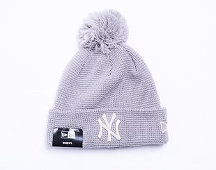 Dámský Kulich New Era MLB Womens Bobble Cuff Knit New York Yankees Gray