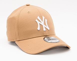 Kšiltovka New Era 9FORTY Color Essential New York Yankees Strapback Wheat / Optic White