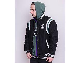 Bunda Karl Kani OG Wool Blend College Jacket Black 6075083