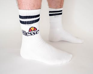 Balení Ponožek Ellesse Pullo 3Pack USHEW002AS White/Navy