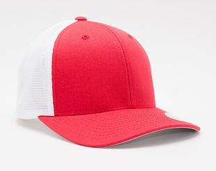 Kšiltovka Flexfit Tech 110 Trucker Red/White