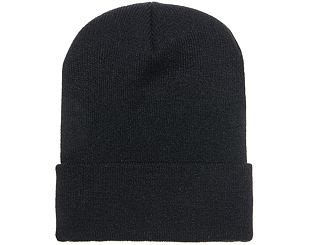 Kulich Yupoong Long Beanie Black
