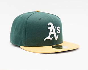 Kšiltovka New Era 59FIFTY MLB Authentic Performance Oakland Athletics Fitted Team Color