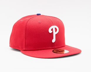Kšiltovka New Era 59FIFTY MLB Authentic Performance Philadelphia Phillies Fitted Team Color