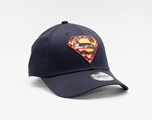 Kšiltovka New Era 9FORTY Kids Character Infill Superman Strapback Navy
