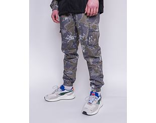 Tepláky New Era Outdoor Utility All Over Print Track Pants New Olive / XPT