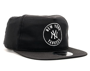 Kšiltovka New Era Taslan Emblem New York Yankess Black 9FIFTY Clipback