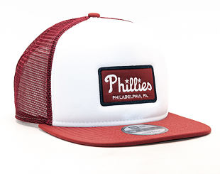 Kšiltovka New Era Emblem Foam Snap Philadelphia Phillies White/Carmine 9FIFTY Snapback
