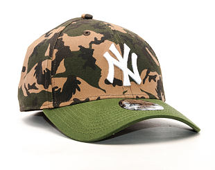 Kšiltovka New Era Camo Team Stretch New York Yankees 39THIRTY Woodland Camo/Official Team Color