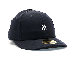 Kšiltovka New Era Mini Logo New York Yankees 59FIFTY LOW PROFILE Navy/White