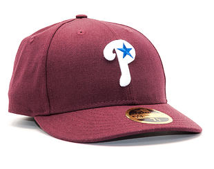 Kšiltovka New Era Coop Wool Philadelphia Phillies Maroon