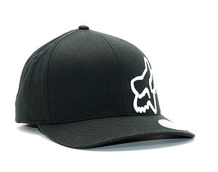 Kšiltovka FOX Flex 45 Flexfit Hat Black/White