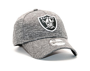 Kšiltovka New Era Shadow Tech Oakland Raiders 9FORTY Grey Heather Strapback