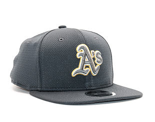 Kšiltovka New Era Tone Tech Redux Oakland Athletics 9FIFTY Grey Heather/Official Team Colors Snapbac