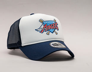Kšiltovka New Era Coast 2 Coast Anaheim Angels 9FORTY A-FRAME TRUCKER  Official Team Color