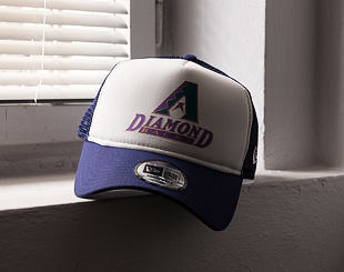 Kšiltovka New Era Coast 2 Coast Arizona Diamondbacks 9FORTY A-FRAME TRUCKER  Official Team Color