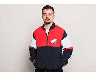 Bunda New Era Coast 2 Coast Track Jacket Anaheim Angels Navy/Heather