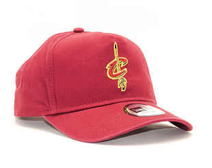 Kšiltovka New Era A Frame Washed Cleveland Cavaliers 9FORTY Official Team Color Snapback