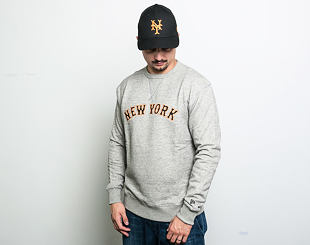 Mikina New Era NY Relocation Crewneck New York Giants Heather Grey
